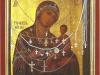 Икона Тихвинской Божией матери. Мироточивая. Находится в завидовской церкви Успения Божией матери