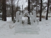 Иосифо-Волоцкий монастырь. Ледяная скульптура