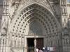 Испания. Барселона. Собор Святого Креста (фрагмент фасада)