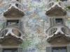 Испания. Барселона. Дом Батльо (фрагмент фасада)