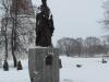 Памятник Иосифу Волоцкому близ Иосифо-Волоколамского монастыря