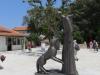 Остров Кошлюн. Монастырь. Памятник святому Франциску
