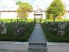 Старица. Успенский мужской монастырь. Памятники некрополя. Собраны по территории монастыря, стоят не над могилами