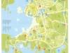 Туристическая карта Пулы