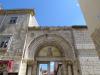 Евфразиева базилика. Люнет ворот комплекса