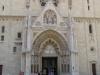 Загреб. Кафедральный собор Вознесения блаженной Девы Марии (перспективный портал)