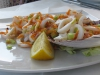 Кальмары. Ресторан на набережной White (Отранто)