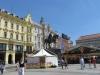 Загреб. Площадь бана Йосипа Елачича