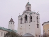 Ярославль. Спасо-Преображенский монастырь. Звонница с церковью Богоматери Печерской